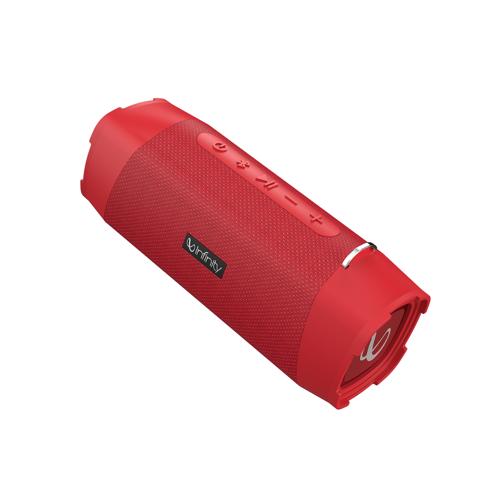 INFINITY FUZE 700 - Red - Portable Wireless Speakers - Back