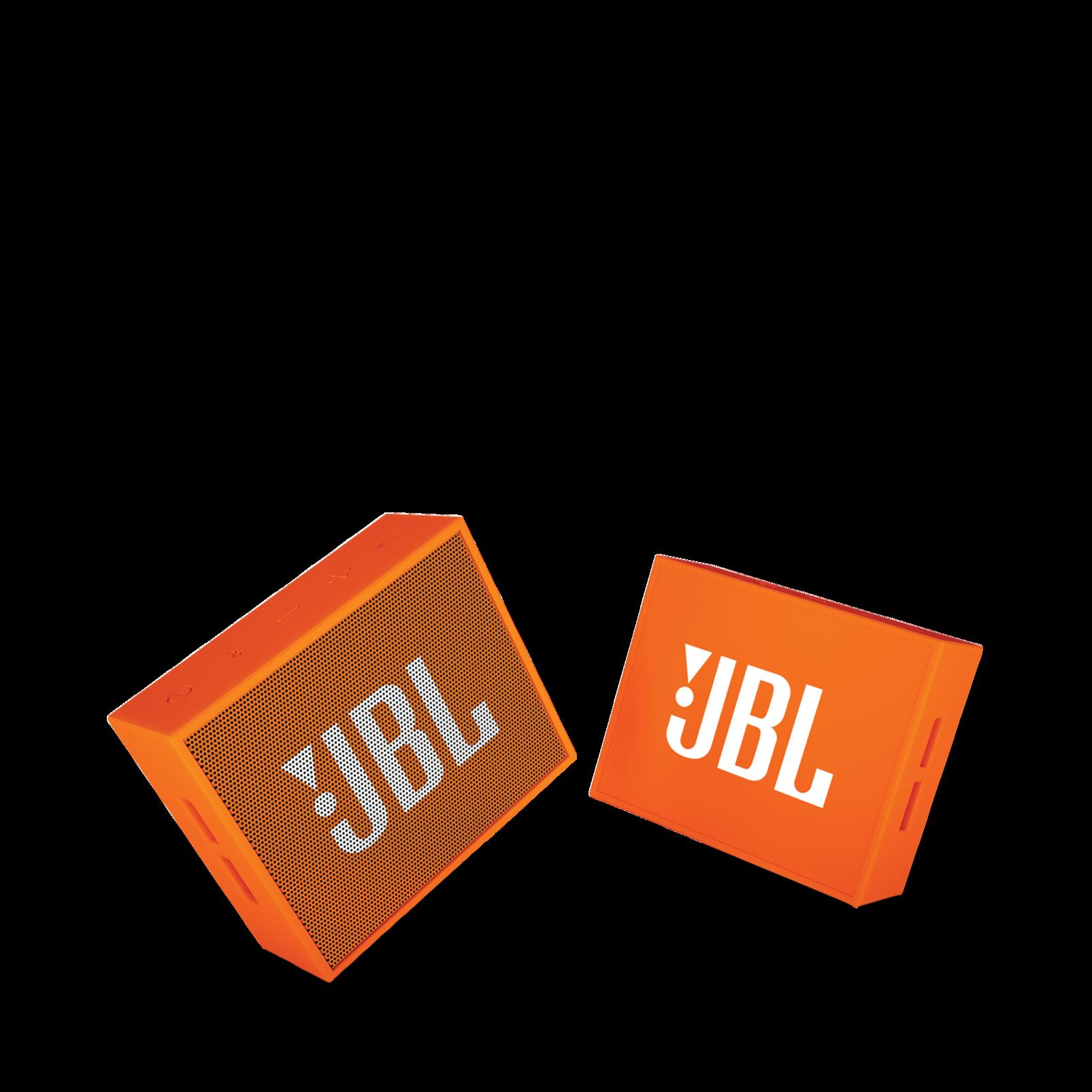 JBL GO - Orange - Full-featured, great-sounding, great-value portable speaker - Detailshot 1