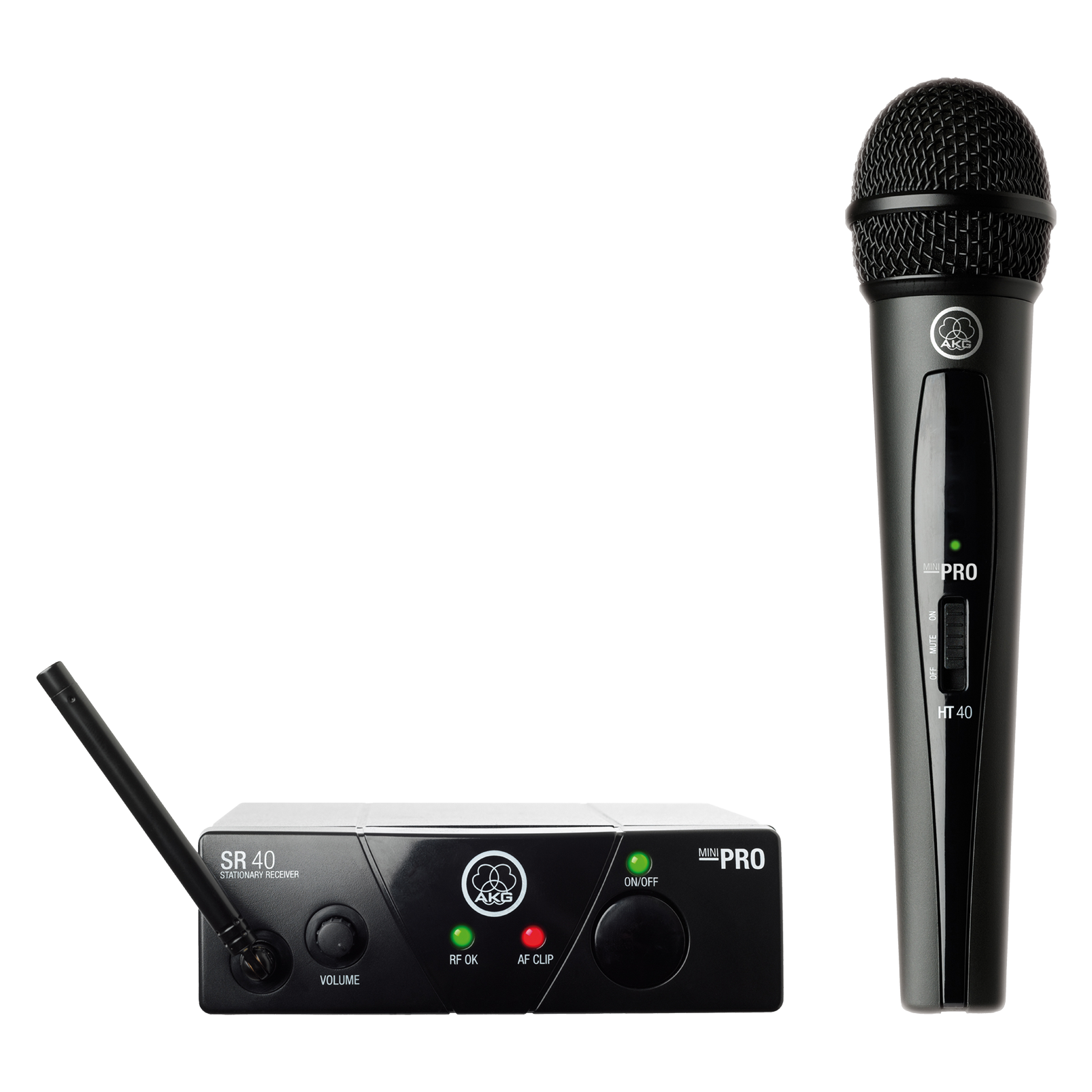 WMS40 Mini Vocal Set Band-US45-A - Black - Wireless microphone system - Hero