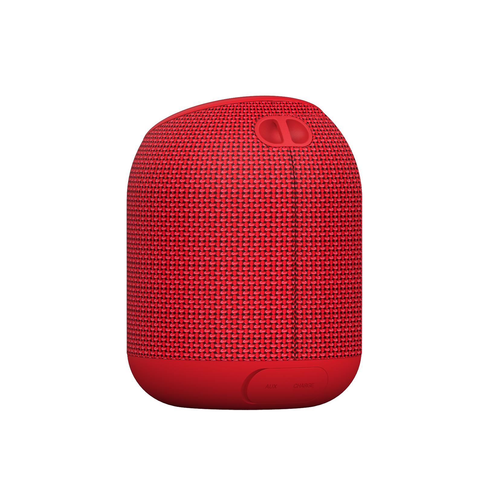 INFINITY FUZE 200 - Red - Portable Wireless Speakers - Back