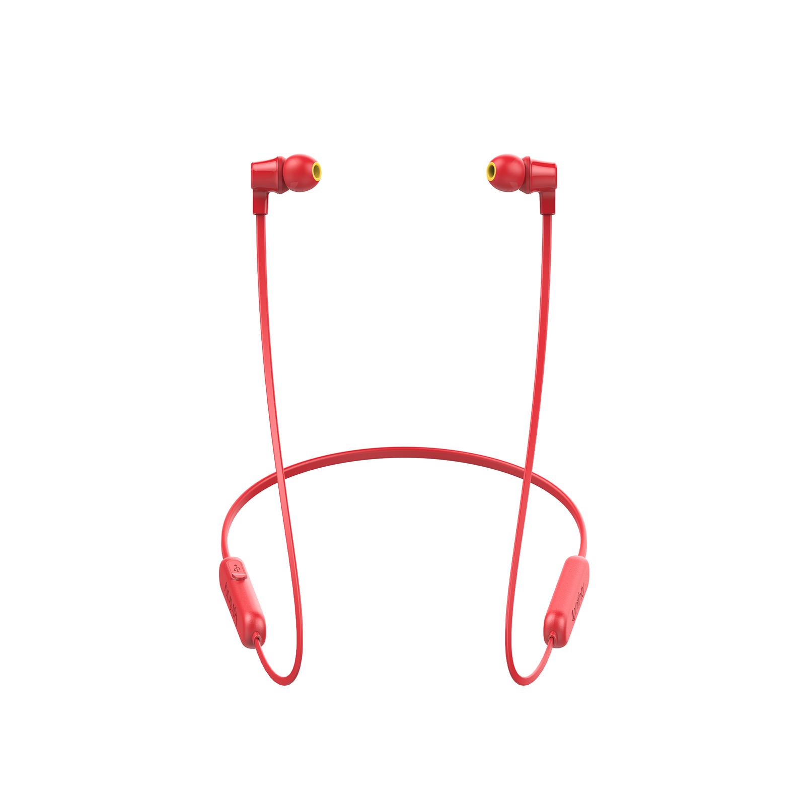 INFINITY GLIDE 100 - Red - In-Ear Wireless Headphones - Left