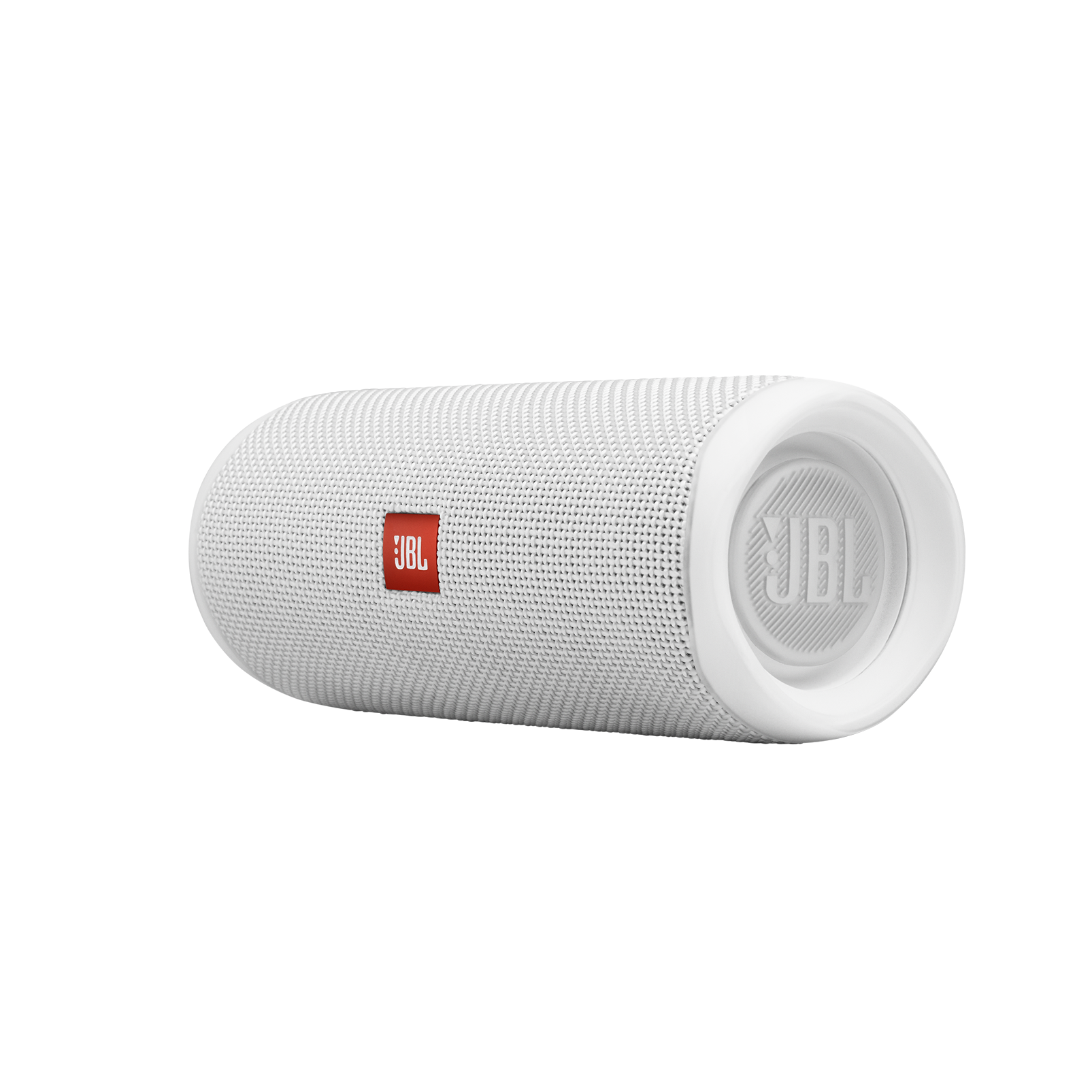 JBL FLIP 5 - White - Portable Waterproof Speaker - Detailshot 3