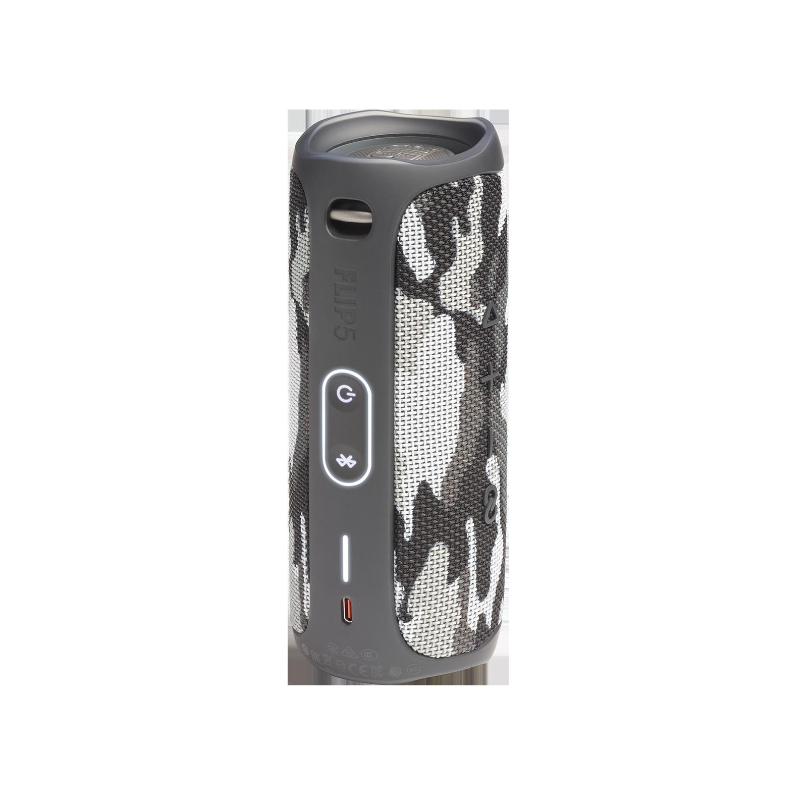 JBL FLIP 5 - Black Camo - Portable Waterproof Speaker - Back